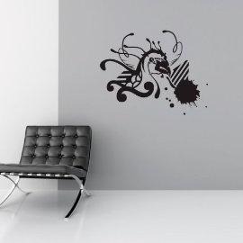 Vinyl Wall Art Abstract Bird