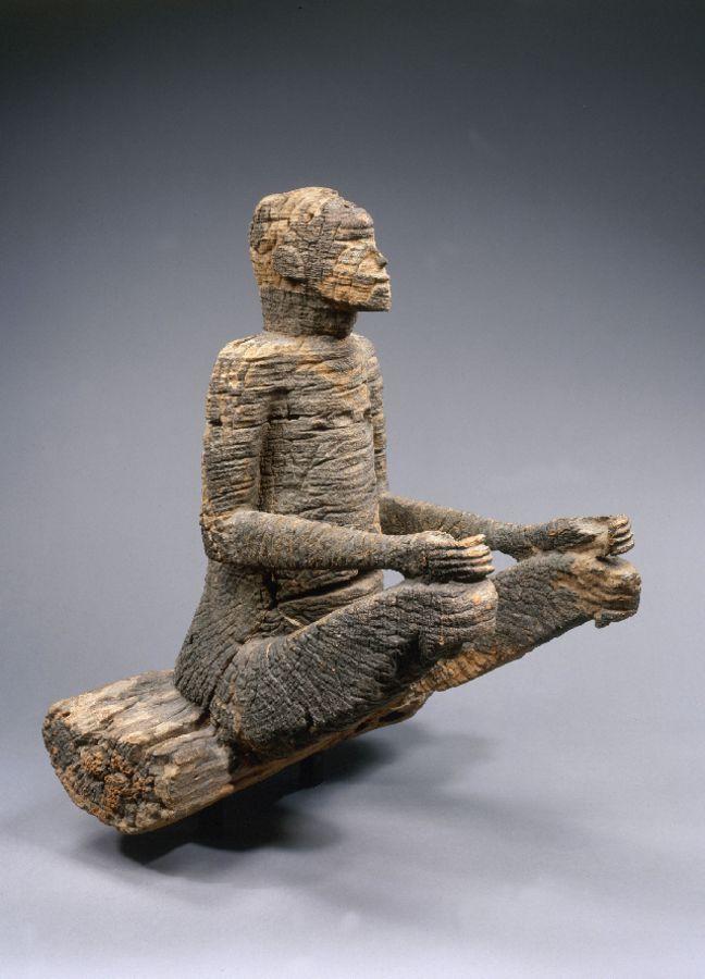 Nigeria, population Mbembe, 17th century, wood, 66x57x56cm, inv.  73.1974.1.1