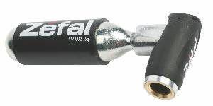 Zefal EZ Push täyttölaite-patruuna, kaikille venttiileille. Pituus 45mm, paino 24g ilman patruunaa