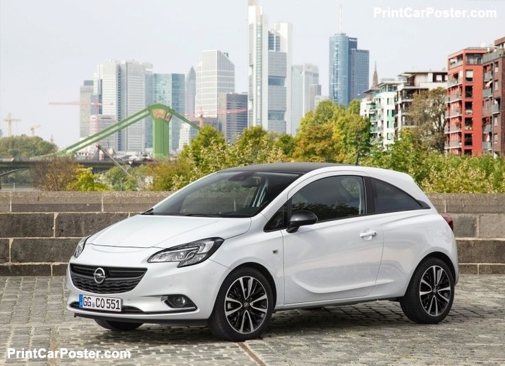 Opel Corsa 2015 poster, #poster, #mousepad, #tshirt, #printcarposter