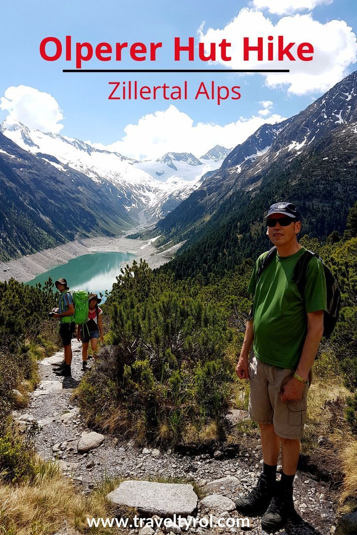 The hike to the Olperer Hut in the Zillertal Alps in Austria is one of the most rewarding outdoor experiences in Tyrol.