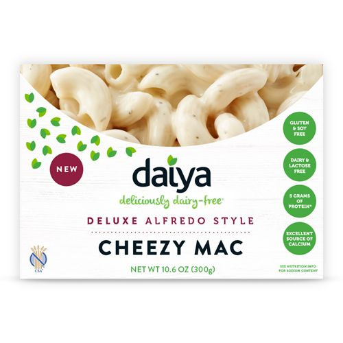Deluxe Alfredo Style Cheezy Mac - Daiya Foods, Deliciously Dairy-Free Cheeses, Meals & More