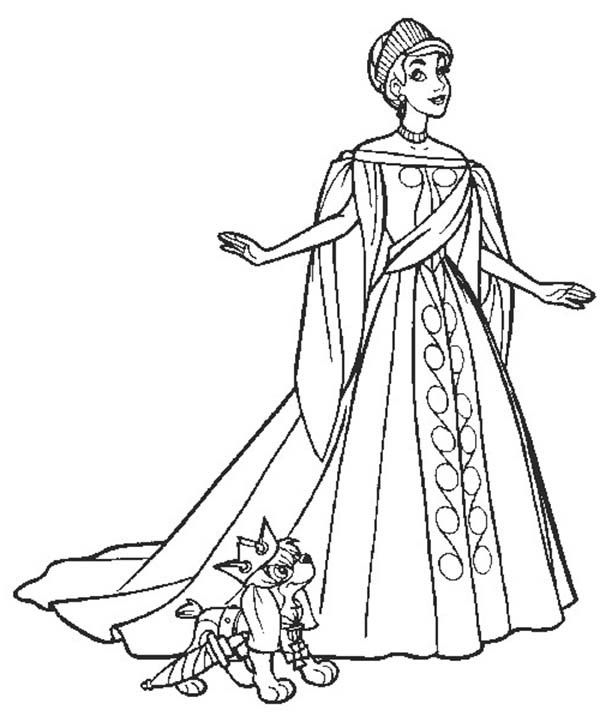 Anastasia Coloring Pages 6