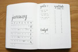 When it comes to productivity, my minimalist bullet journal is a lifesaver. I'm excited to show you my minimalistic monthly for January and my 2017 lists!