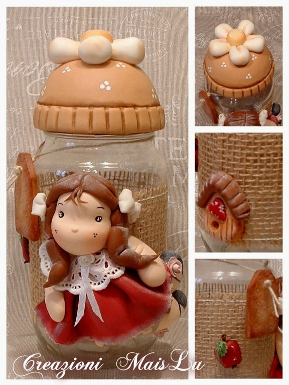 """Barattolo """"country doll"""""""