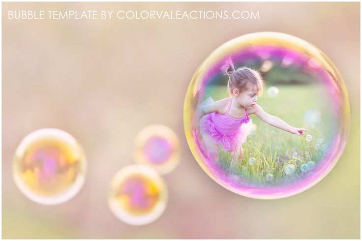 Colorvale™ Bubbles Template Place your photograph inside this bubble template to create a magical story. The perfect template for marketing, mini-sessions, cards and more!  ** When posting to facebook you must resize to 900 px wide - NO LARGER. This is required for copyright purposes.  This download includes:  You will download a ZIP folder. It is important that you first SAVE this folder to your computer and another source. Once dow…
