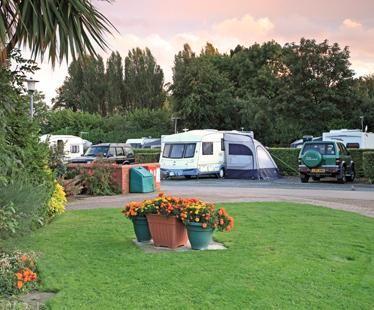 York Rowntree Park Caravan Club Site