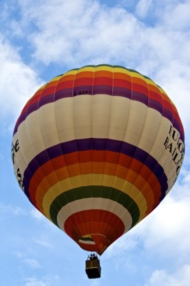 balloon in flight - the perfect christmas present?