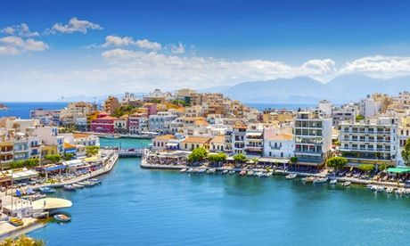 2017 UK to: ✈ Crete: 3, 5 or 7 Nights at a Choice of 4* Hotels with All Inclusive and Flights* UK 2017 Deal:  for just: £239.00