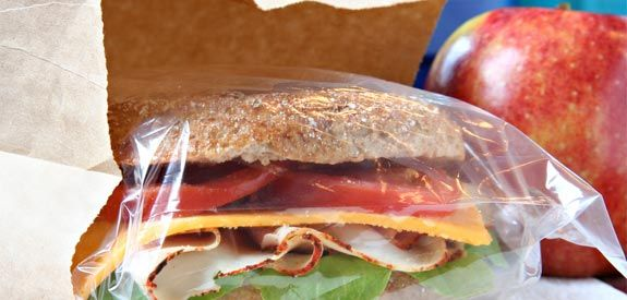 This site has great ideas for making lunch a little more exciting - brown-bag-lunch-sandwich