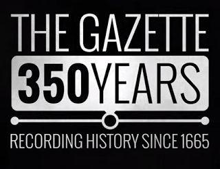 The British GENES blog: 350 years of The London Gazette