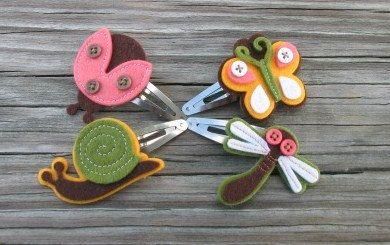 <3 hair clips