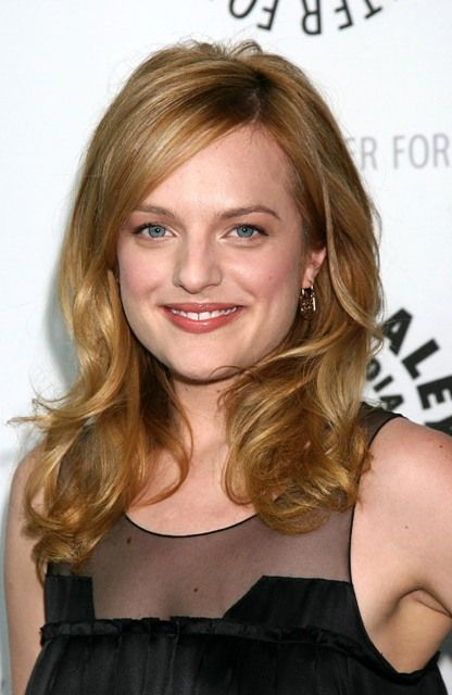 """Elisabeth Moss. I love her as Peggy in """"Mad Men."""""""