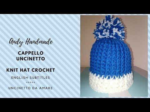 Tutorial Cappello Alluncinetto Per Bimbao Con Le Orecchie