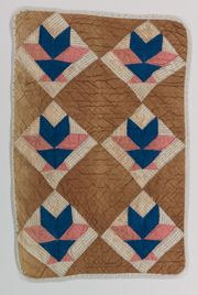 circa 1900 doll quilt, Mary Campbell Ghormley Collection, IQSCM