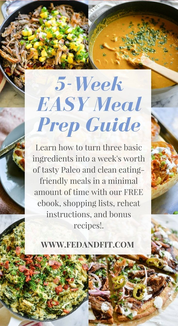 The Cook Once Eat All Week Easy Meal Prep Plan With Images