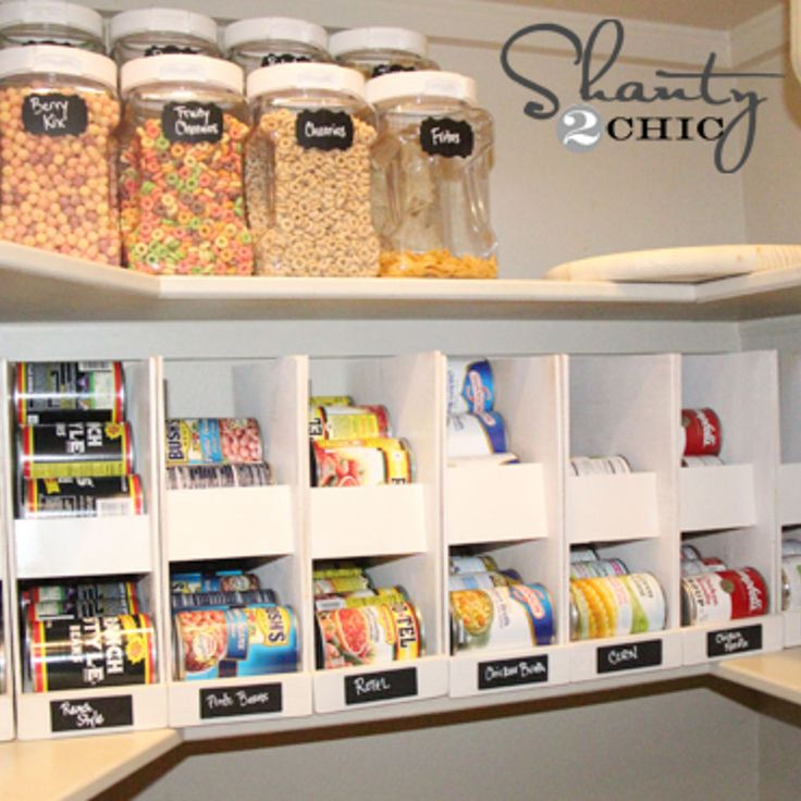 Canned Food Storage Pantry And Design On Pinterest: Diy Storage, Pantry And Storage