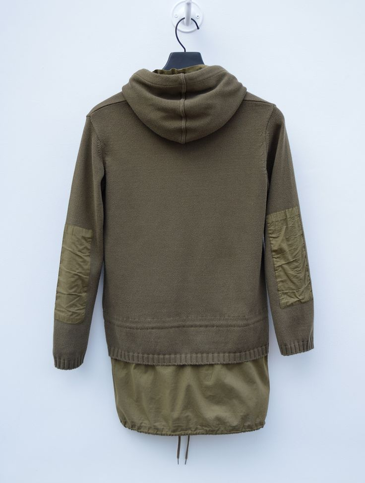 An entry from The Urban Code | Jumpers, Helmut lang and Military