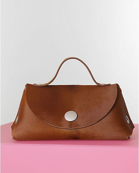 Celine Caramel Pony Calfskin Orb Single Tote Bag - Winter 2014