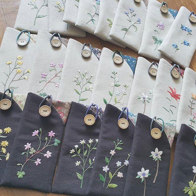 #한울규방 #생활자수  #규방공예  #조각보  #부산자수 #handmade  #embroidery #자수안경집 #꽃자수수업