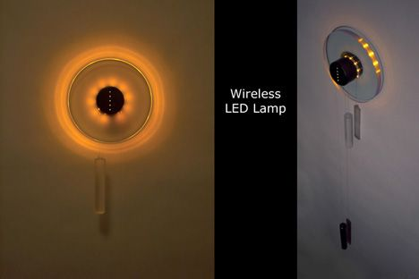 Rechargeable Cordless LED Lamp by Balazs Puspok | Yanko Design