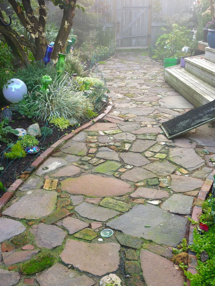 90 best images about garden borders steps paths on Types of pathways in landscaping