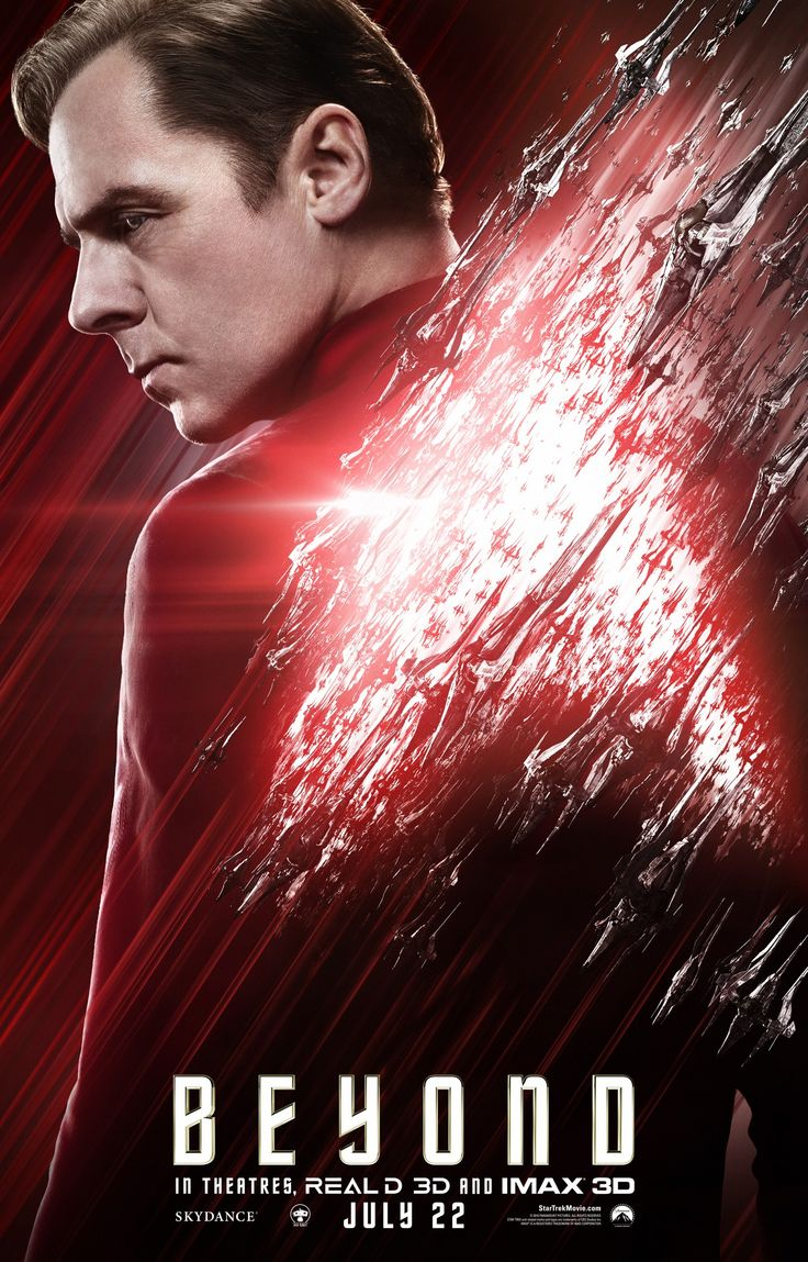 Star Trek: Beyond - Simon Pegg as Scotty
