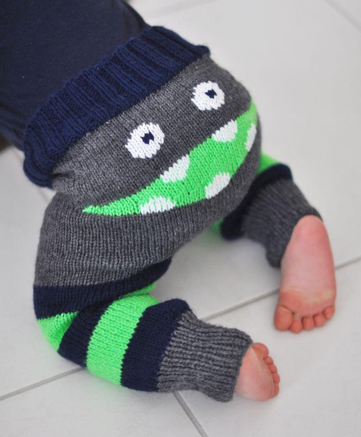 Le monstre qui hantait un pantalon… Patron en français