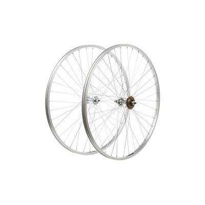 Get your body into shape with this Singlespeed Wheelset - 700c Alloy - http://fitnessmania.com.au/shop/reid-cycles/singlespeed-wheelset-700c-alloy/ #Alloy, #BicycleParts, #BicycleWheels, #C, #Cycling, #Fitness, #FitnessMania, #Health, #OutdoorRecreation, #ReidCycles, #Singlespeed, #SportingGoods, #Wheelset