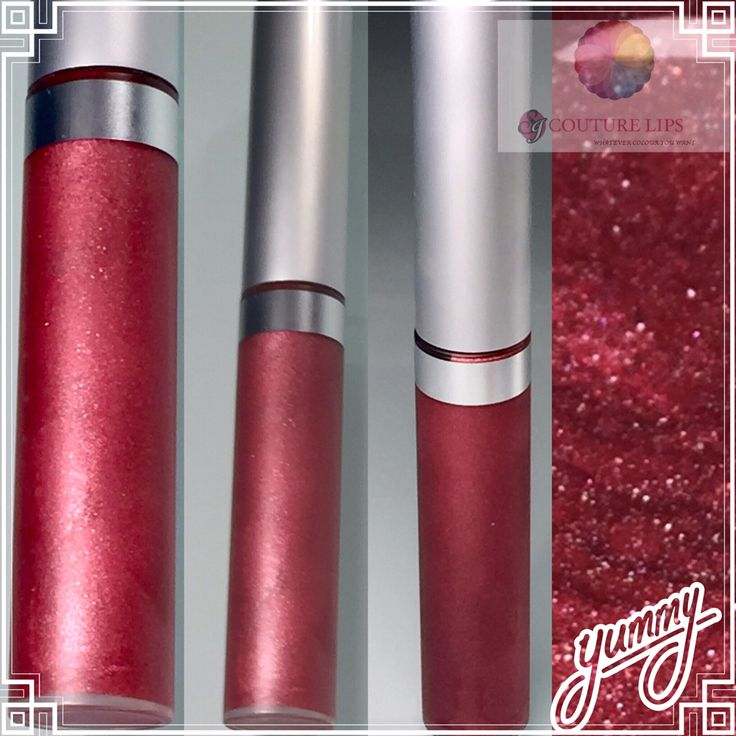 Yummy, lipgloss that tastes as good as it looks. SJ Couture Lips