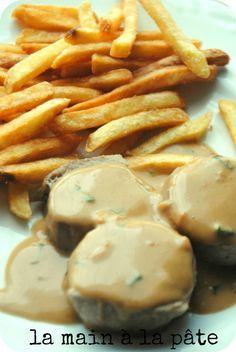 Médaillons de porc sauce Satay -