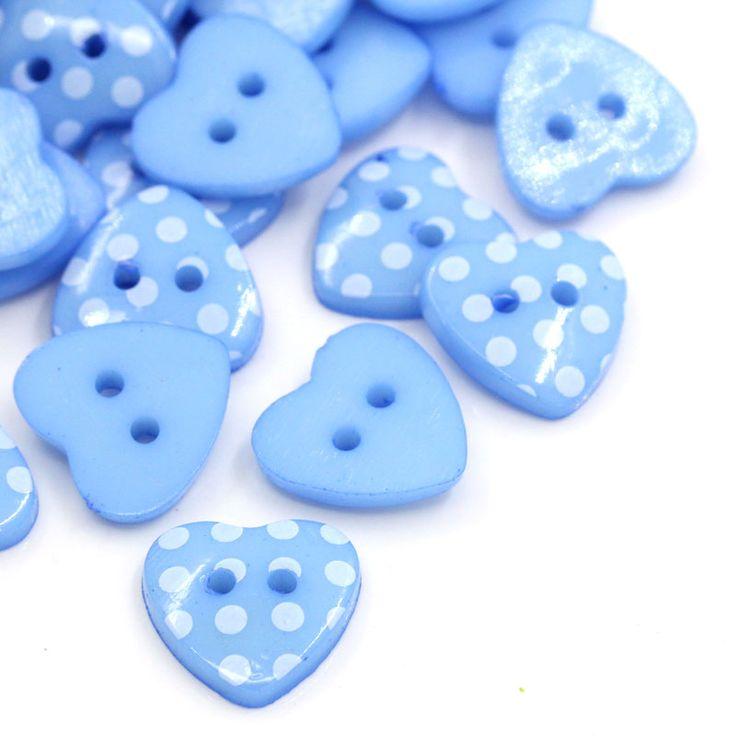 """Купить товар100 Шт. Смола Кнопки Любовь Форме Сердца Синие Точки Pattern Швейные Кнопки Скрапбукинга 5/8 """"x4/8"""" в категории Пуговицына AliExpress.  Hoomall 25PCs Natural Wooden Buttons Round Dark Color Sewing Buttons Scrapbooking 2 Holes Sewing Accessories 30mm(1 1/8"""