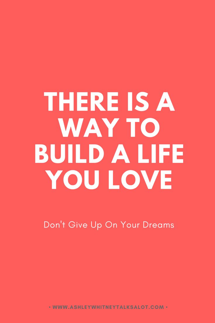 There is a way to build a life you love. Don't give up on your dreams. See a list of online courses for personal development to help you discover who you really are and how to set and reach goals that make your dreams come true.
