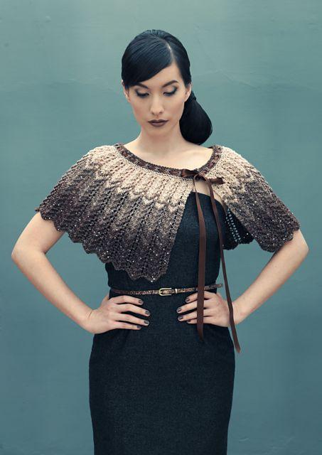 Ravelry: Auriga pattern by Louisa Harding - it's kind of birdlike...