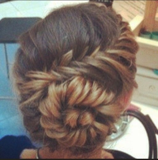 Instagram insta glam fishtail braid buns beautiful my for Fish tails braid