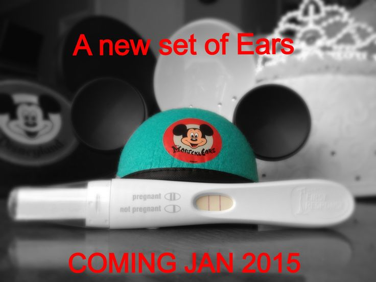 Our Disney pregnancy announcement --- http://tipsalud.com -----