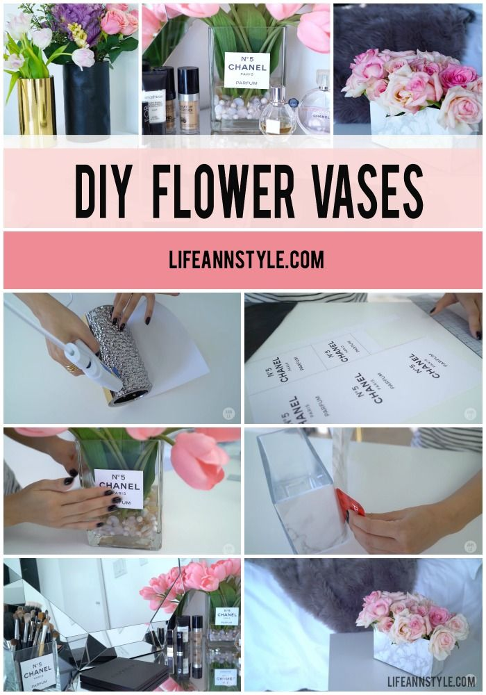 239 best diy by ann le images on pinterest diys bullets and journal ideas Diy home decor flower vase