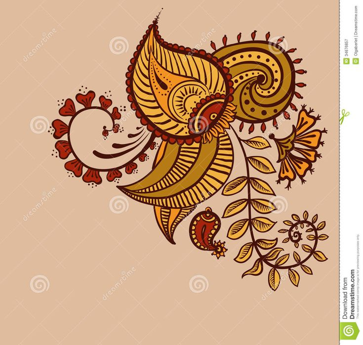 Mehndi Lotus Drawing : Best images about paisley on pinterest lotus flower