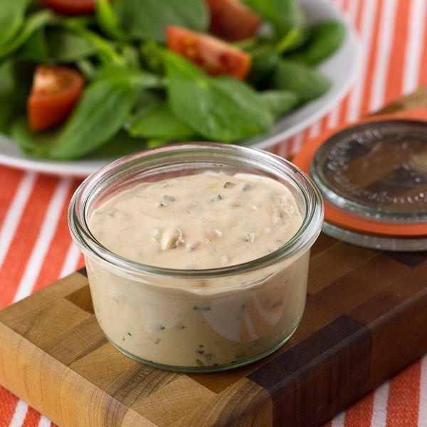 Homemade Thousand Islands Salad Dressing Recipe