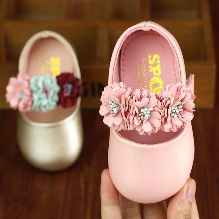 Toddler girl shoes, Baby flower girl