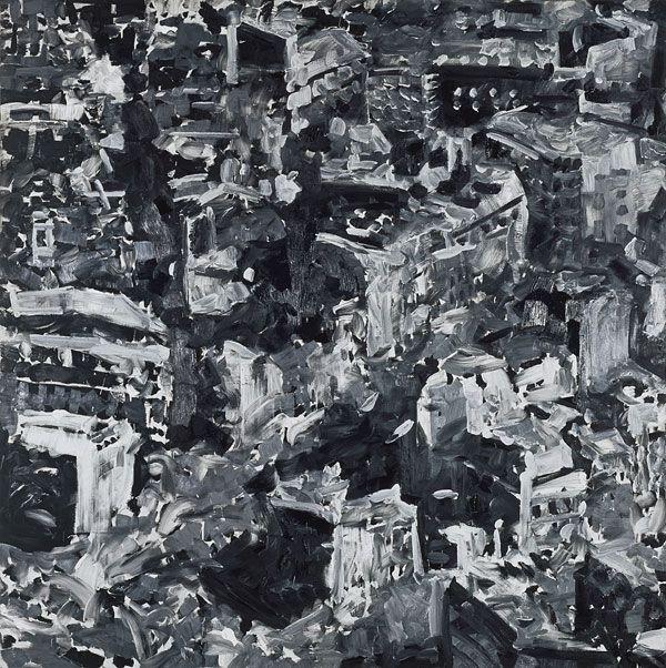 Gerhard Richter, Stadtbild Paris [Paysage urbain, Paris] (CR 175), 1968  Huile sur toile, 200 x 200 cm  Stuttgart, collection Froehlich  Dr - © Gerhard Richter 2012