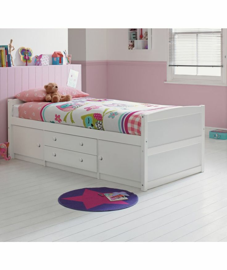 Tilly 2 Drawer Single Cabin Bed White At Argos Co Uk Your Online For Children S Beds Emma Bedroom Ideas Pinterest
