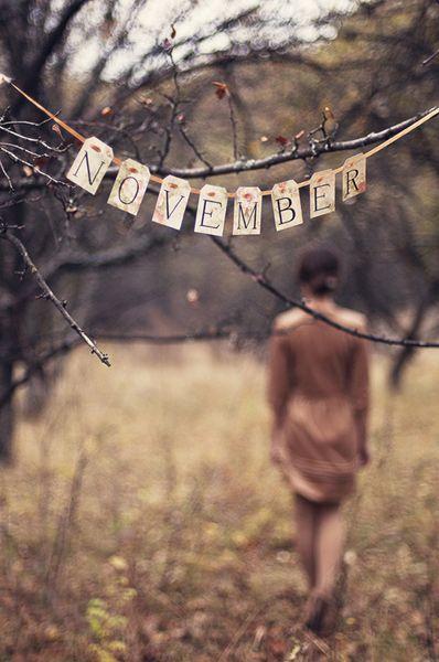 ~ November <3