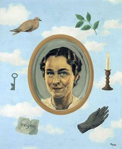 Georgette Cómic, 1934 de Rene Magritte (1898-1967, Belgium)