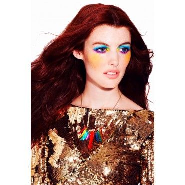 Rainbow Parrakeet Necklace from Tatty Devine $79
