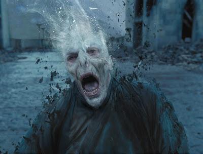 Voldemort death scene concept art
