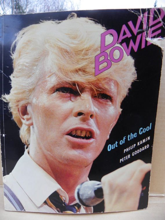 David Bowie  Out of the Cool  1983 Soft Cover David Bowie