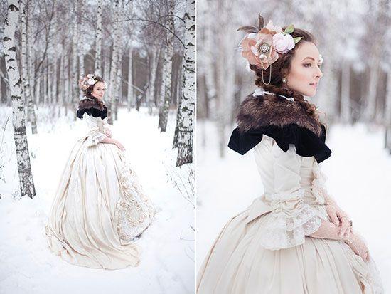 Идеи для свадебной фотосесии зимой фото 5