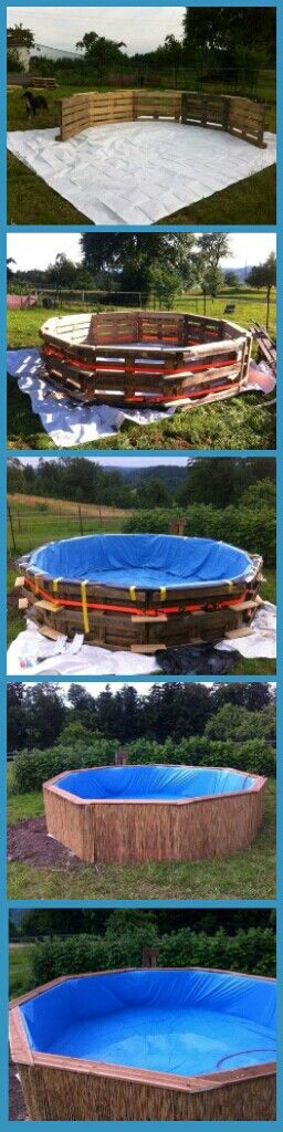 Maybe on a smaller scale to use as a fish pond for aquaponic system. May bury it a foot or so in the ground as well...