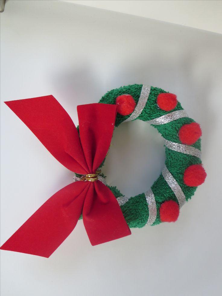 washcloth folding craft wreath washcloth craft